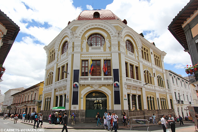 Quito vieille ville coloniale