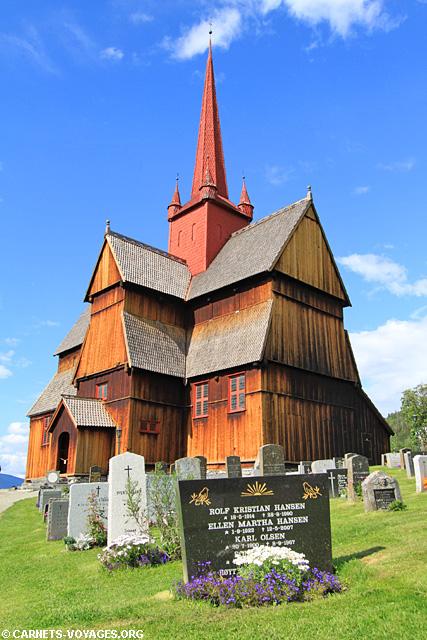 Eglise en bois debout de Ringebu Norvège
