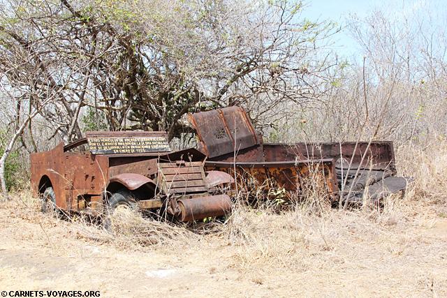 vestige véhicule militaire santa rosa costa rica