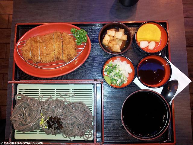 Restaurant Cobaco buckwheat noodles & cutlet set Seogwipo Jeju