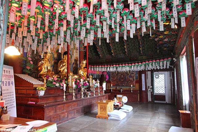 Temple Sinheung-sa Parc National de Seoraksan Corée du Sud