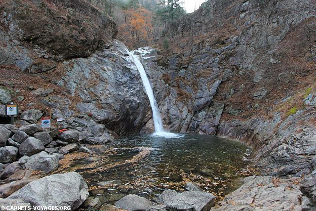 Randonnée Parc National de Seoraksan Corée du Sud