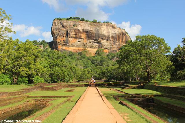 Rocher du Lion Sigiriya Sri Lanka