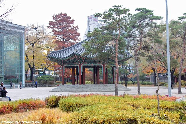 Parc Tapgol Séoul Corée du Sud