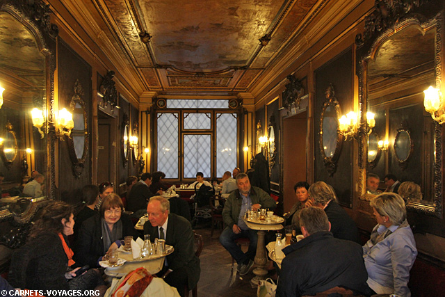 Café Florian visiter Venise