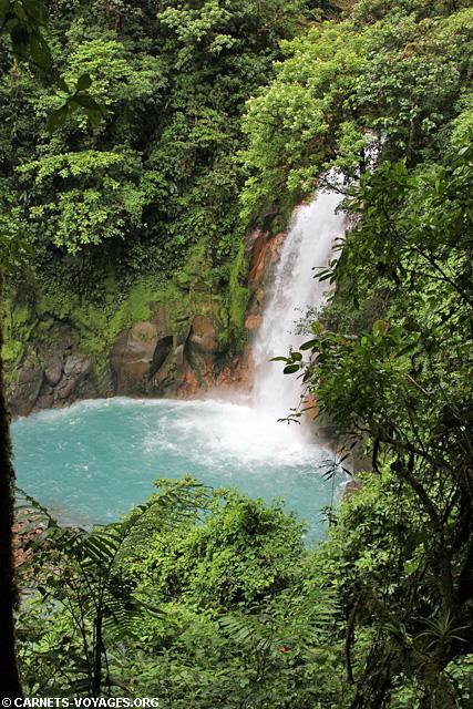 Cascade Rio Celeste Parc Volcan Tenorio Costa Rica
