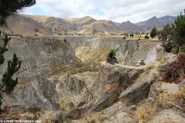 Canyon Zumbahua Equateur