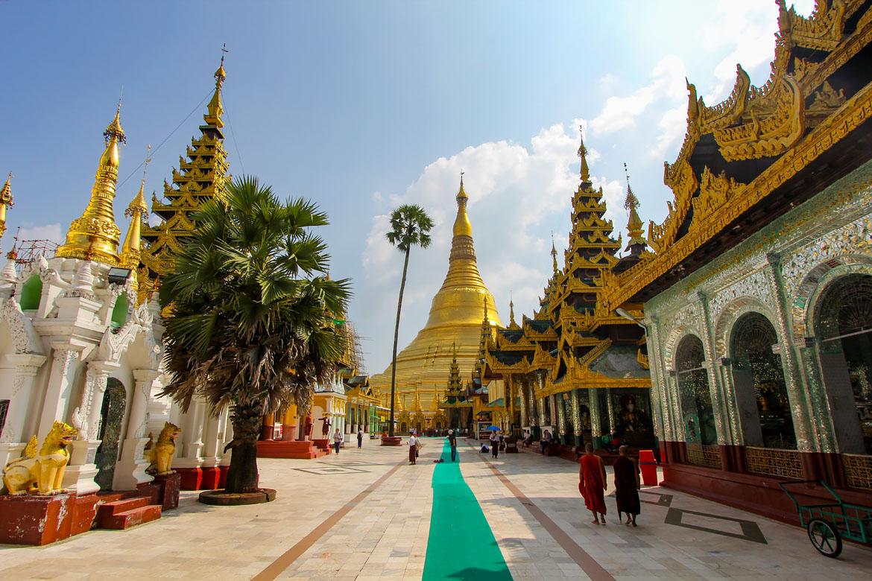 Pagode Shwedagon Yangon Birmanie