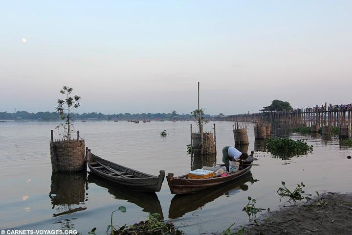 Ubein Amurapura Birmanie