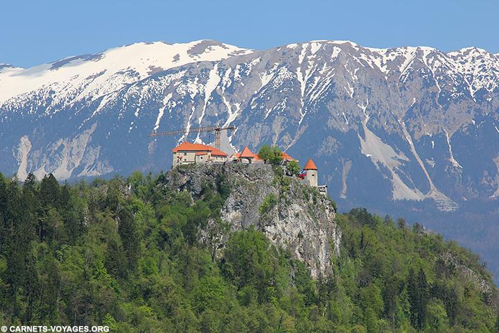 Chateau lac de Bled Slovénie