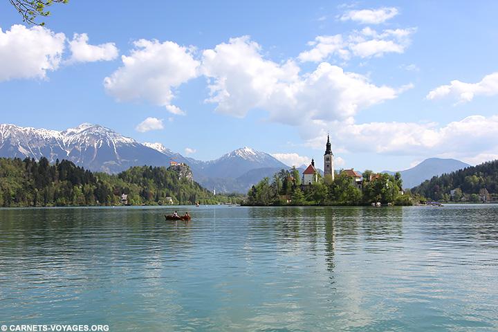 Visiter lac de Bled Slovénie