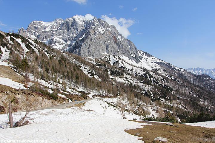 Col de Vrsic Slovénie