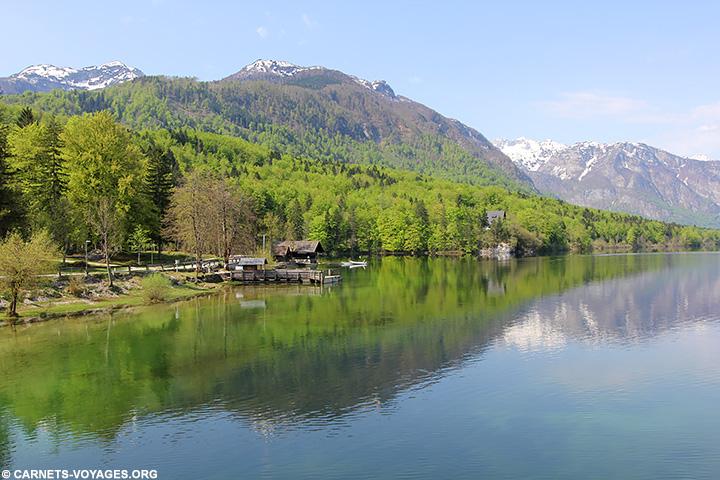 Visiter lac Bohinj Slovénie