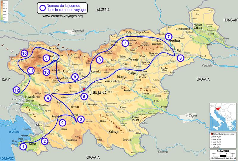 Itinéraire road trip Slovénie