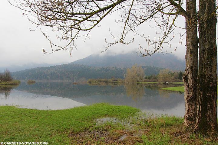 Lac cerknica Slovénie