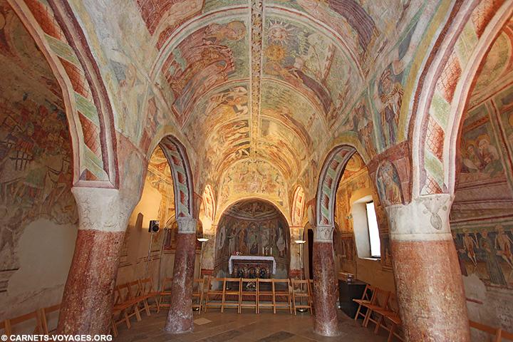 Fresques Hrastovlje Slovenie