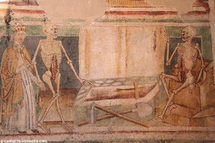Fresques danse macabre Hrastovlje Slovenie