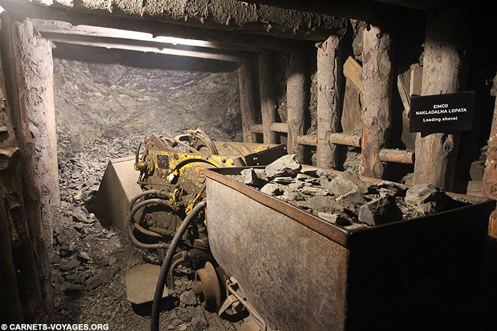 Mine d'Idrija Slovenie