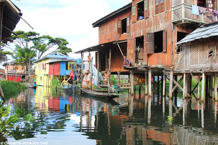 Visite lac Inle Birmanie