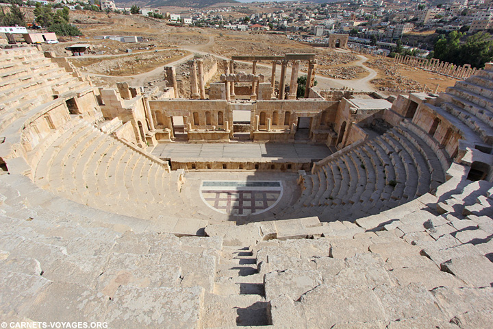 Jerash Road trip Jordanie