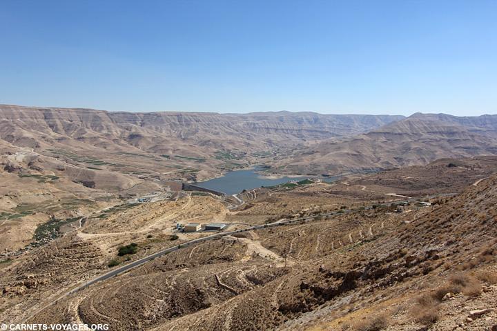 Route du Roi Jordanie
