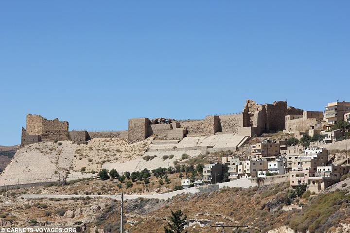 Chateau Kerak Jordanie