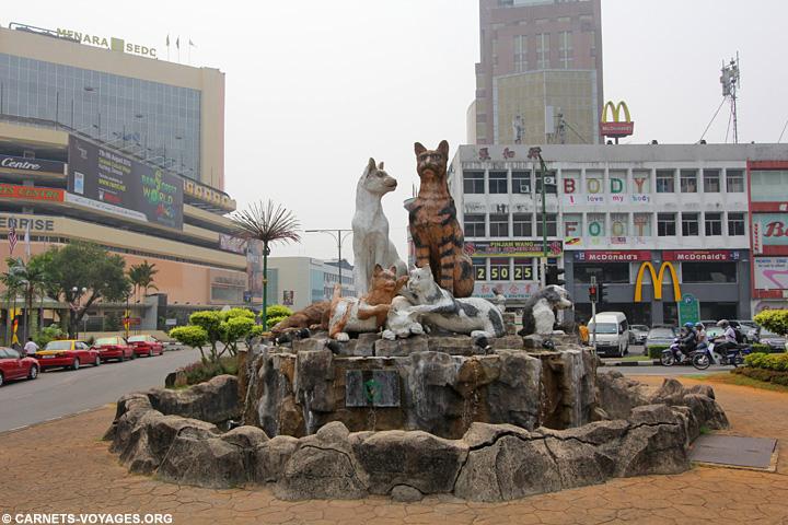 Kuching voyage à Bornéo Malaisie