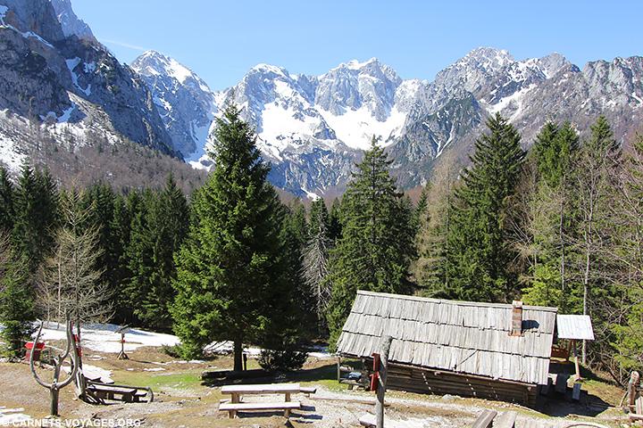 Randonnée Logarska Dolina Slovénie