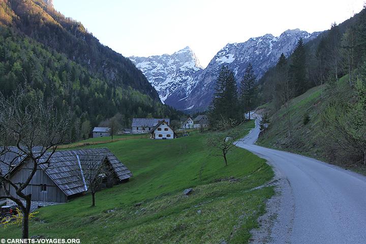 Vallée de Matkov Kot Slovénie