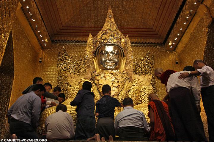 Bouddha Mahamuni Paya Mandalay