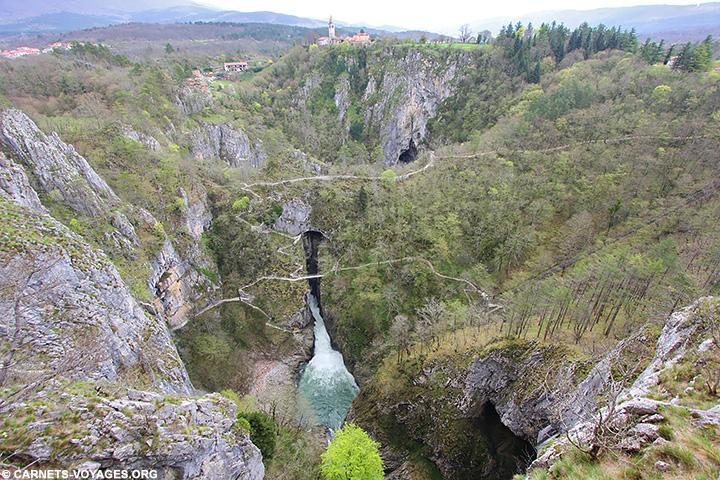 Sentier d'interpretation Skocjan Slovenie