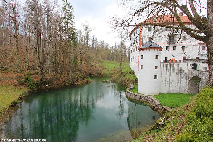 Chateau sneznik Slovénie