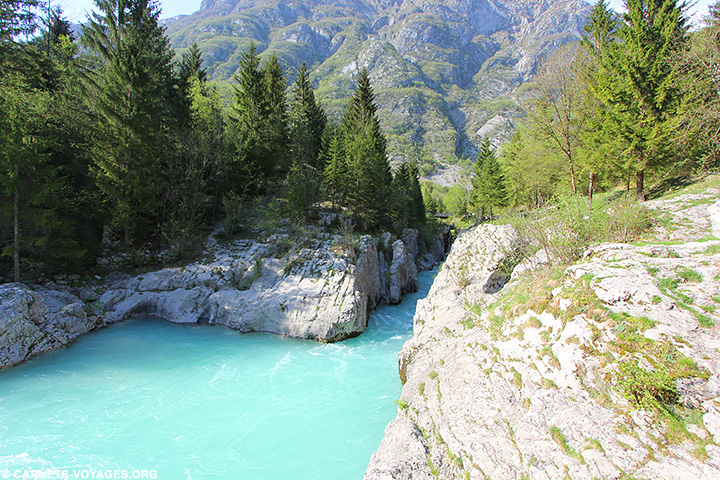 Vallée de la Soca Slovénie