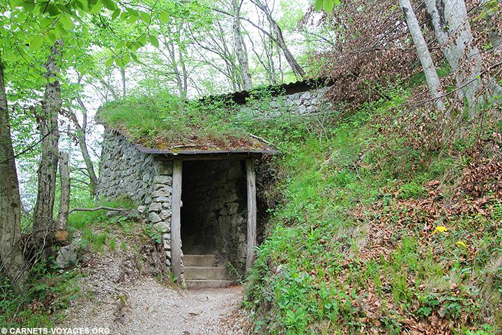 Chemin historique de Kobarid Slovénie