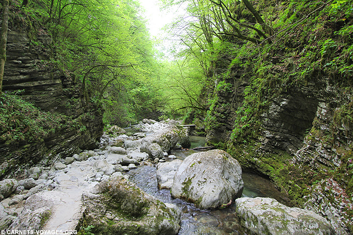 Cascade de Kozjak Slovénie