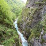 Gorges de Tolmin Slovénie