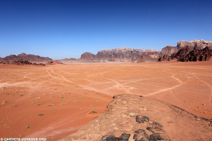 Désert Wadi Rum Jordanie