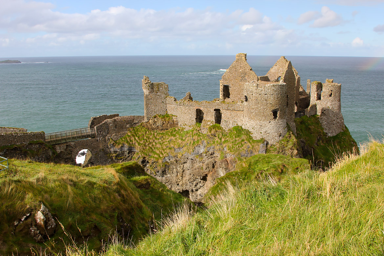Dunluce castle Irlande du Nord