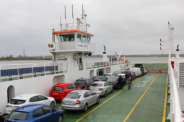Ferry Tubert Killimer road trip cote sud Irlande