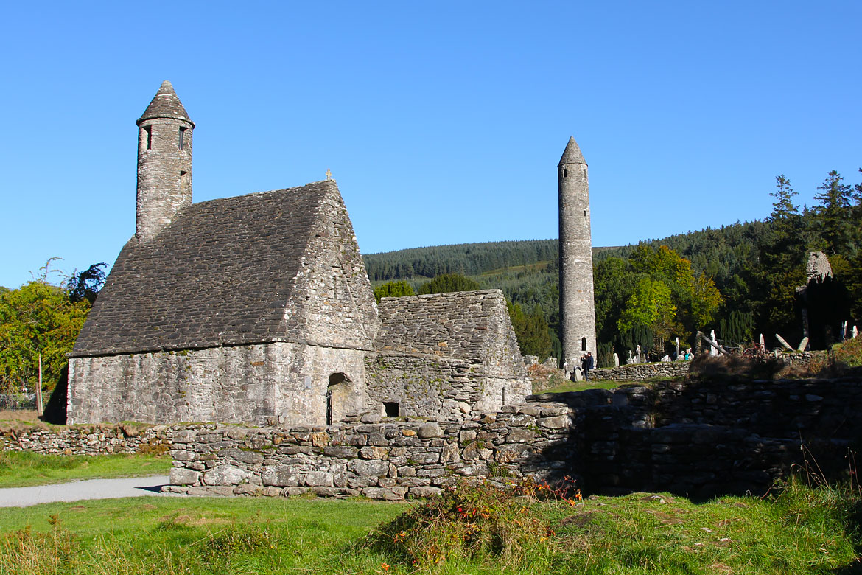 Monastère Glendalough Irlande