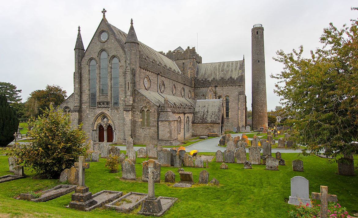Kilkenny St Canice Cathedral Irlande