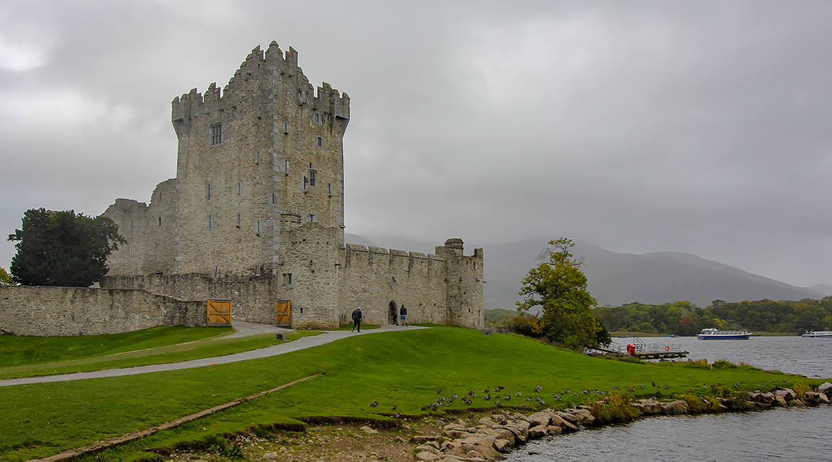 Ross Castle Killarney Irlande