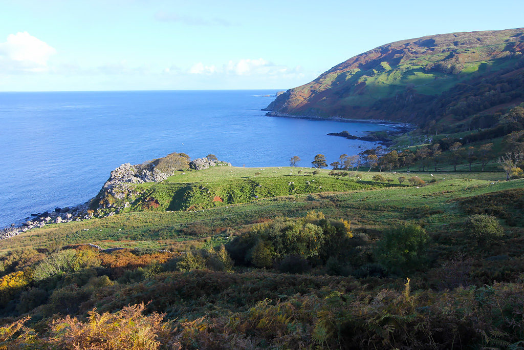Murlough Bay road trip Irlande du Nord
