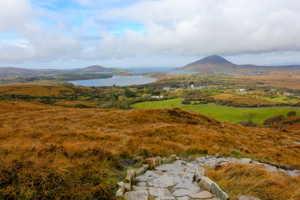 Parc National Connemara randonnée Irlande