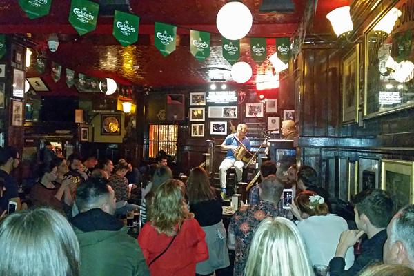 Musique live pub Dublin