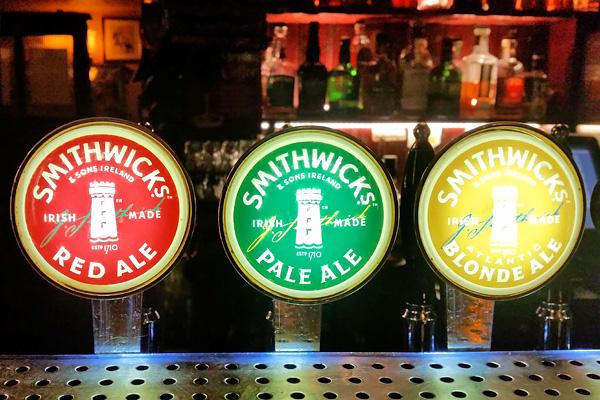 Tireuse à bière Smithwicks's Dublin