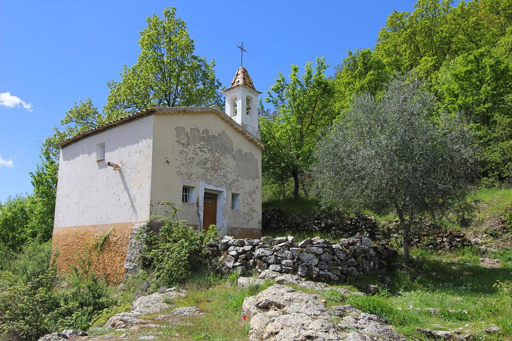 Chapelle Saint Antoine Utelle