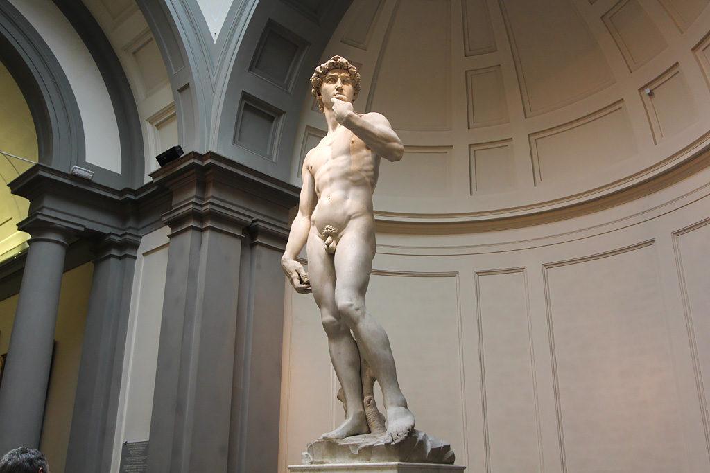 Statue David Michel Ange