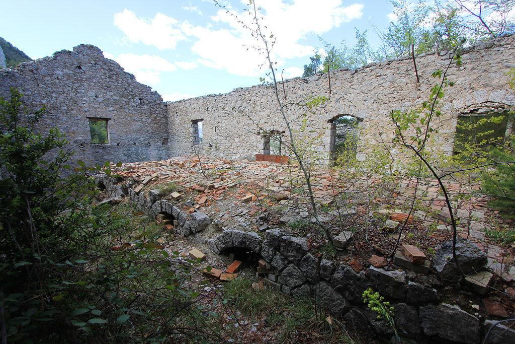Ancienne mine de l'éguisse Duranus