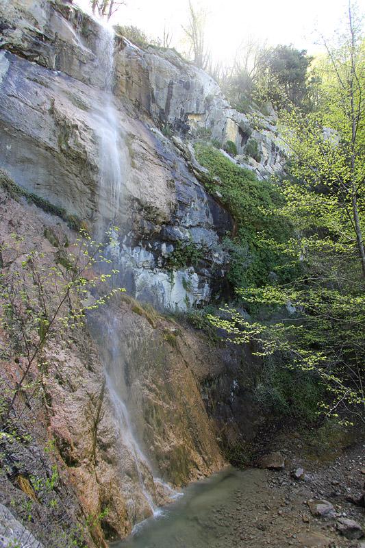 Cascade randonnée mine de l'éguisse